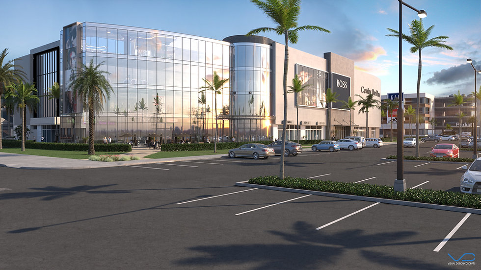 3D Rendering Century Once Plaza