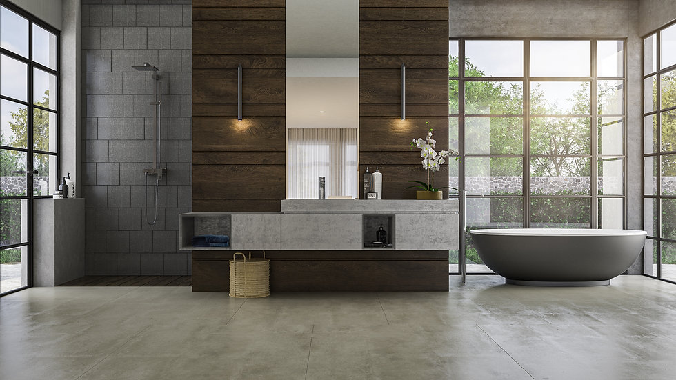 3D Rendering Bathroom Concept Two