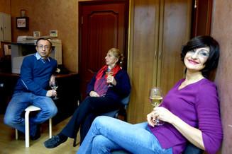 Yuri Hohlov, Zaida Knight, and Tatiana Ershova