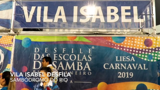 Video of Vila Isabel procession