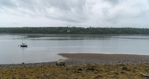 Neap tide in NW Harbor