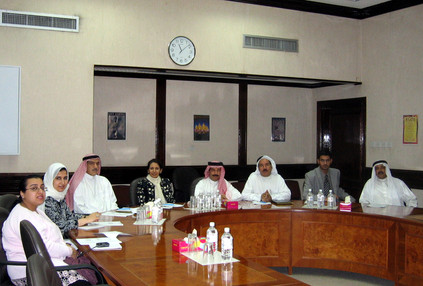 Meeting on eLearning project