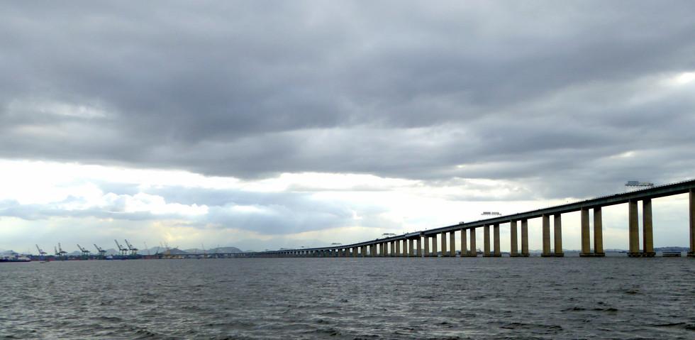Bridge between Rio de Janeiro and Niteroi