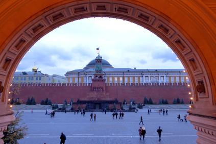The Kremlin Senate from GUM department store