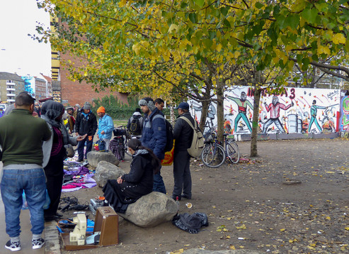 African and Middle Eastern imigrants, Copenhagen