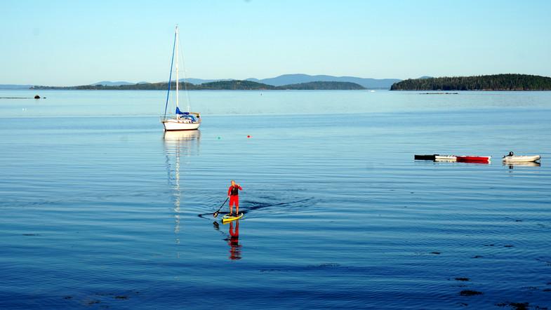 Training, Northwest Harbor, Deer Isle, ME