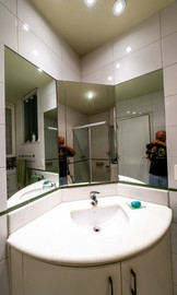 Master suite bathroom sink