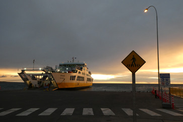 Ferry from Punta Arenas