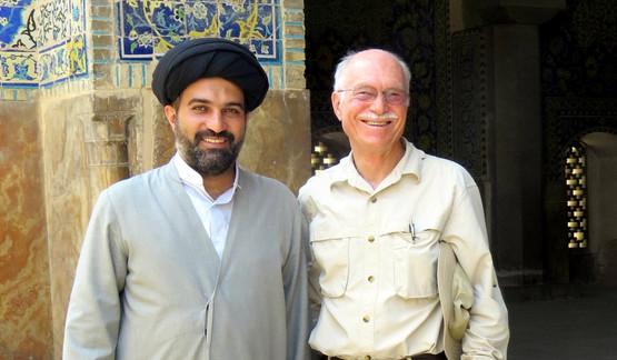 The mullah and me, Tehran, Iran