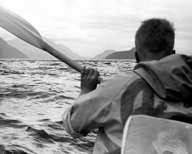 Heading toward the Yacultas rapids