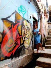 Wall painting, Cantagalo