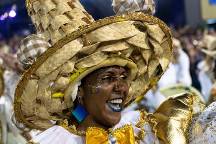 Portela samba school marcher