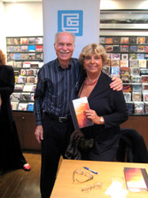 With my wife Zaida at her book signing