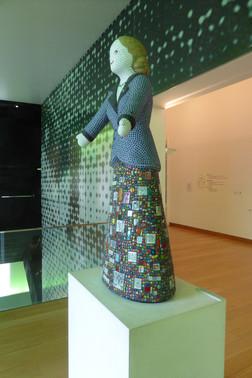 Evita Perón in The Emilio Caraffa Provincial Fine Arts Museum