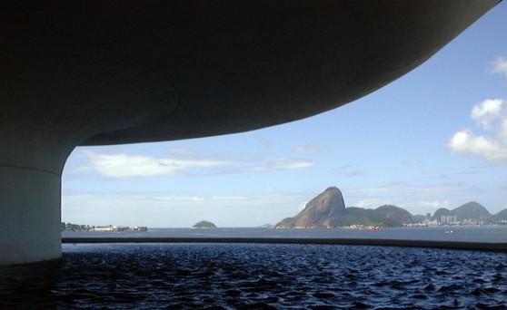 Guanabara Bay and the Sugarloaf