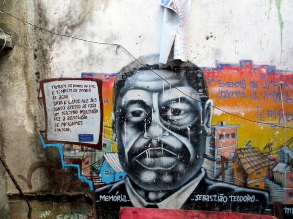 Casa Tela, Cantagalo Favela
