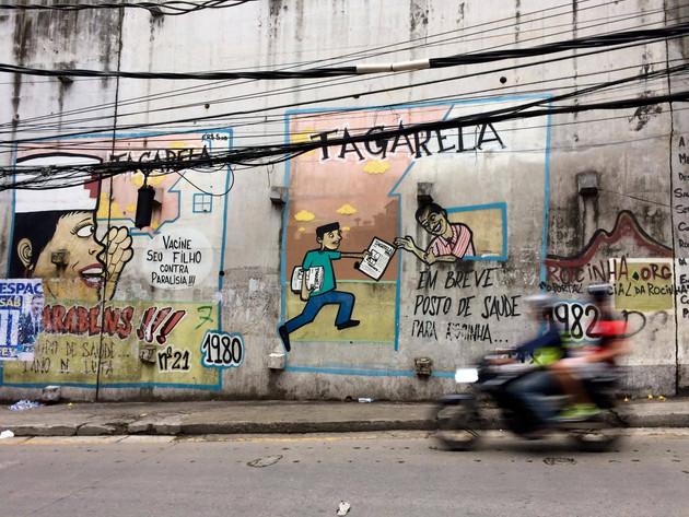 Estrada da Gávea, Rocinha