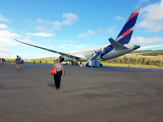 Arriving in Rapa Nui