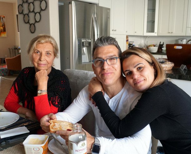 Zaida, Jonathan, and Juliana