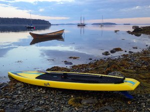 Early morning ready to paddle
