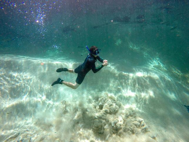 Underwater springs, Rio Sucuri