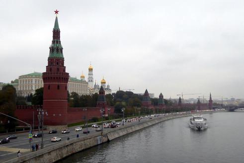 The Kremlin from Bolshoi Kamenney Bridge