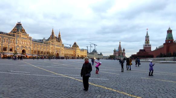 Zaida at Red Square