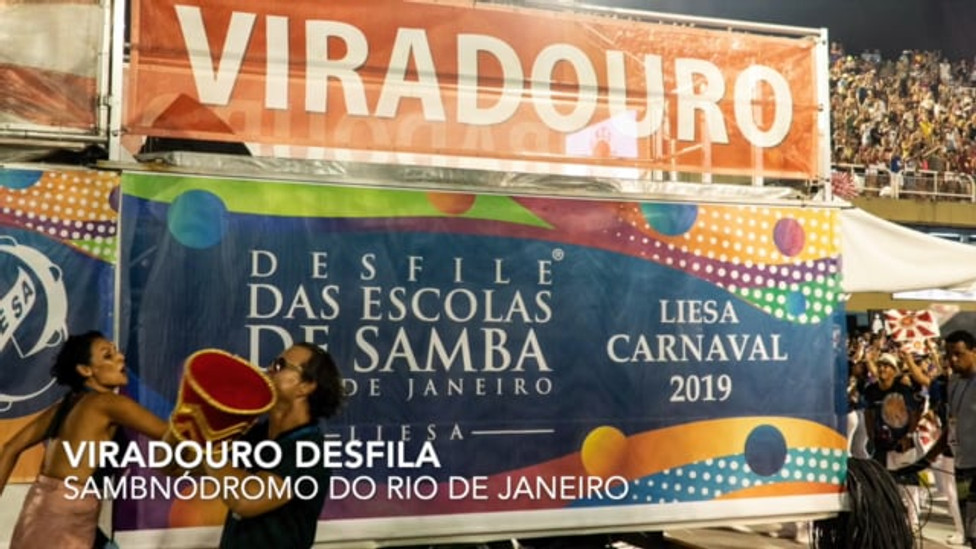 Viradouro samba school, 2019