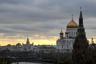 Moscow skyline from the Kremlin