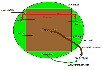 Full Earth diagram from Herman Daly