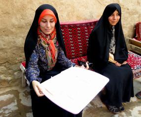 Women sell sweets, Kashan, Iran