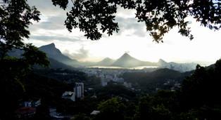 Corcovado, Lagoa de Freitas and Sugarloaf