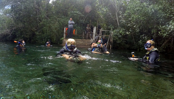 Floating expedition, Rio Sucurí