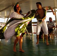 Carimbó dancers