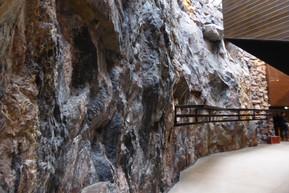 Interior wall, Temppeliaukio Church