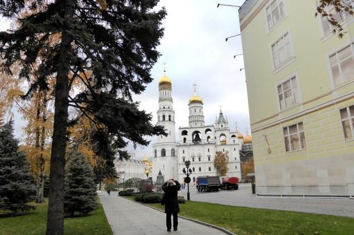 Ivan the Great Belltower, Kremlin gounds