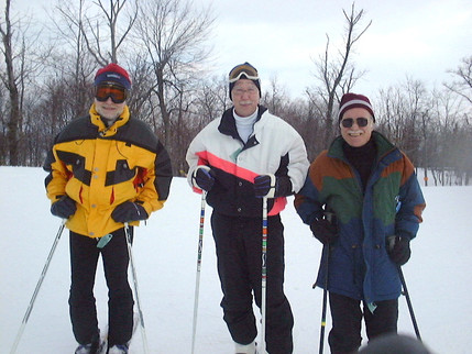 3 Peters: Scherer, Wogart, and Knight at Whitetail