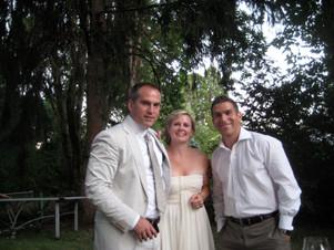 Charles, his wife Kate, and Jonathan