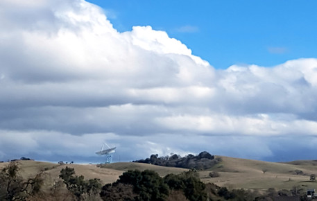 Foothills near Stanford University