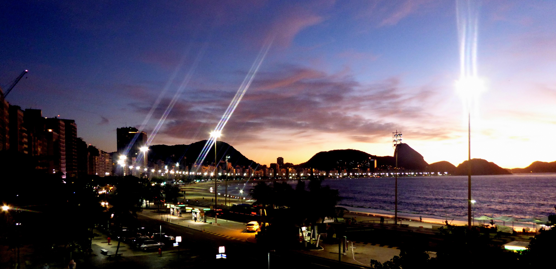 Copacabana at dawn