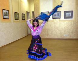 Tatiana Ershova, Gypsy Dancer, Moscow