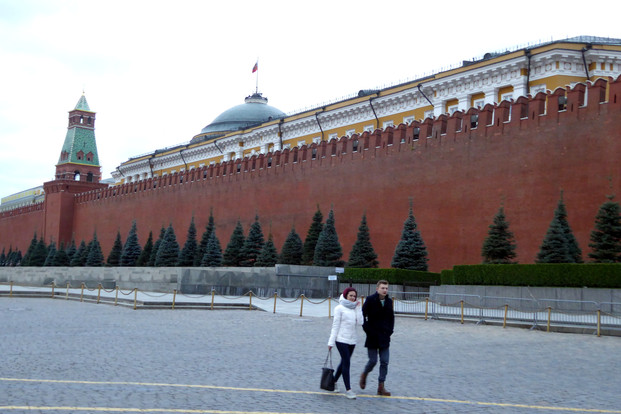 The Kremlin from Red Square