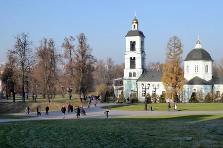 Church at Tsaritsyno