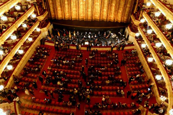 Bolshoi Theater at intermission