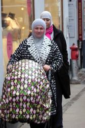 Muslim women in Copenhagen