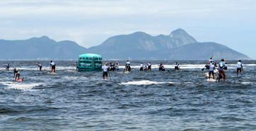 Approaching buoy, Rei e Rainha do Mar, December 2013
