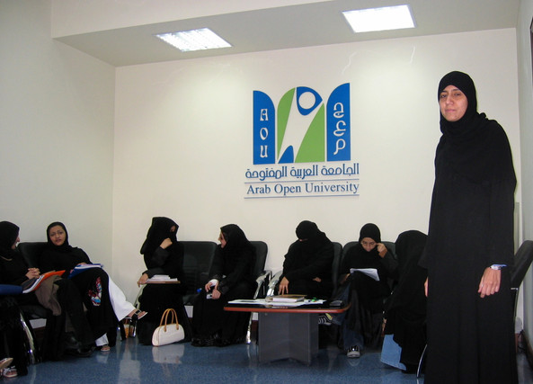 Visit to Arab Open University