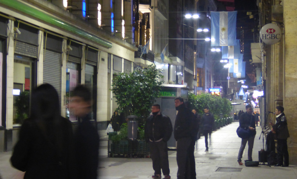 Calle Florida, Buenos Aires by night
