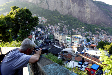 Fotographer in Rocinha