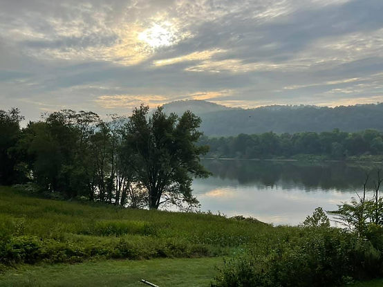 Janet Conn - August Morning on the Ohio River.jpg